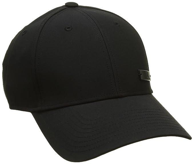 85278b2c4f3b4 adidas S98158-OSFM Casquette Homme, Noir, FR Fabricant : Taille Unique