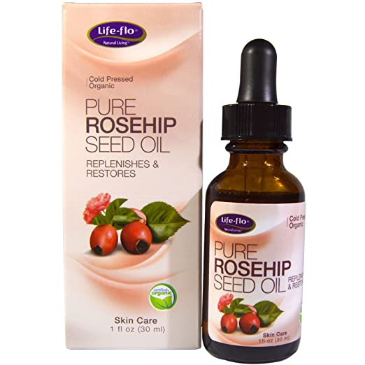 Amazon.com : Life-flo, Pure Rosehip Seed Oil, Skin Care, 1 oz (30 ml) - A rich amber oil from the ripe fruit of the rose known as the hip - It is ...