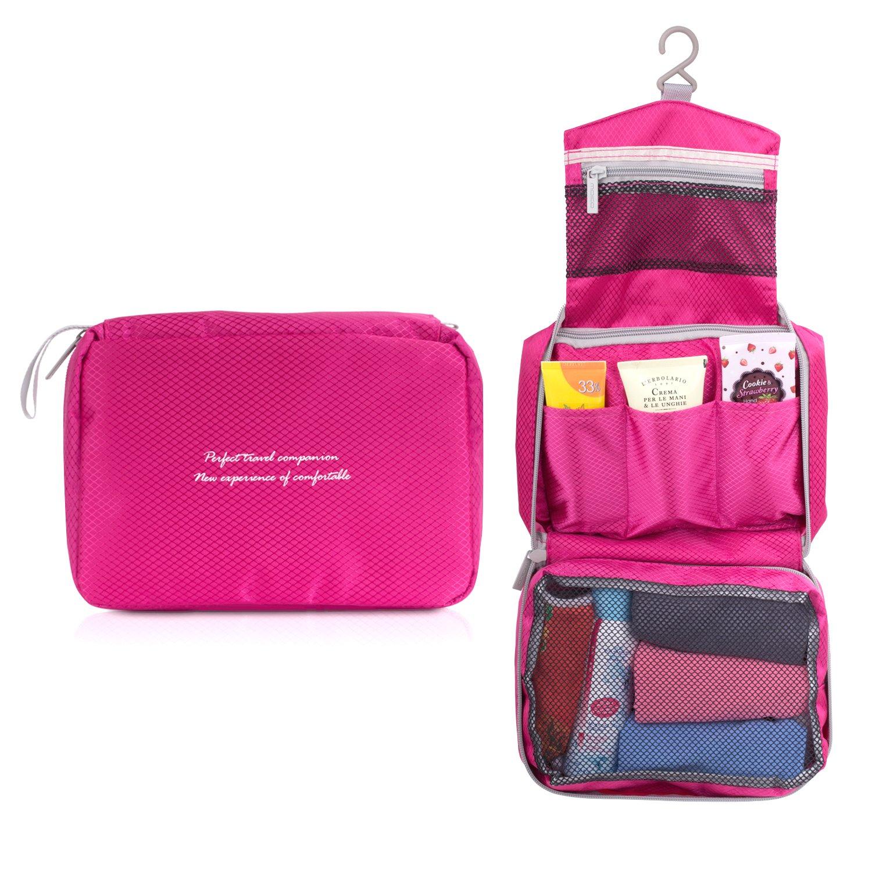 MoKo Neceser de viaje Portátil Impermeable Makeup Bag Toiletry Organizador Bola de