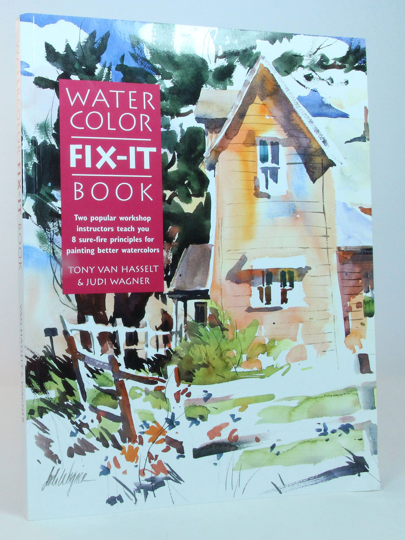 Watercolor Fix-it Book