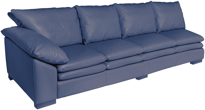 Amazon.com: Omnia piel Fargo brazo izquierdo 4 cojín sofá en ...