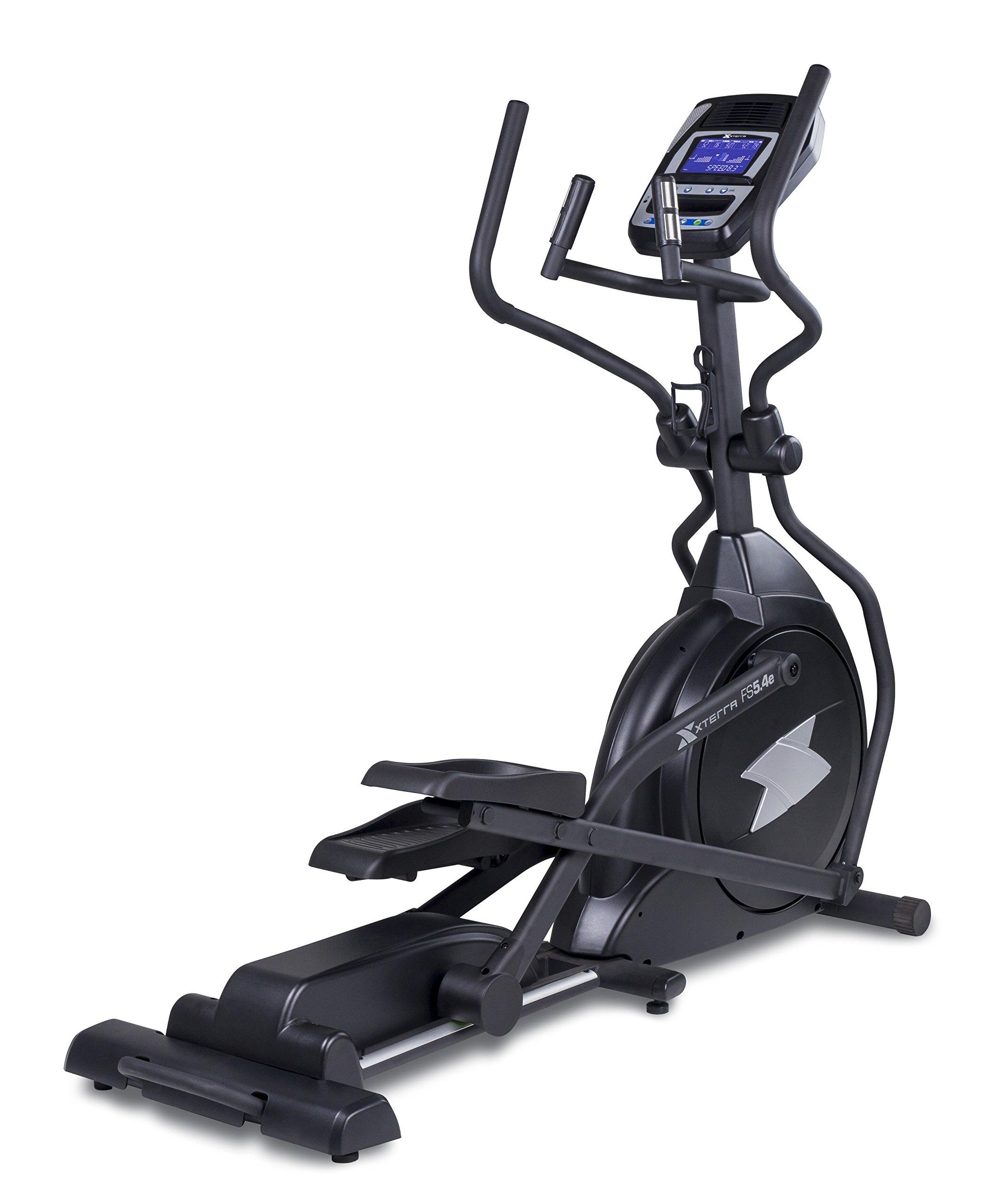 Xterra Fitness FS5.4e Elliptical Trainer, Black