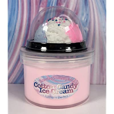 Scented Slime by Amy Cotton Candy Ice Cream DIY: Toys & Games