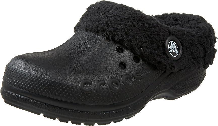 Crocs Childrens Warm Lined Mules