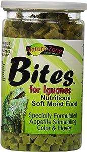 Nature Zone Snz54631 Iguana Bites Soft Moist Food, 9-Ounce