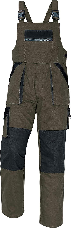Pantalones con Peto de Trabajo para Hombre de algod/ón Stenso MAX