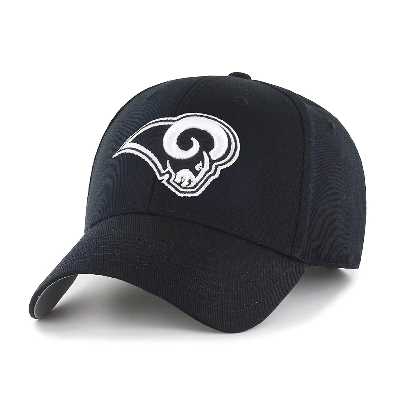 online retailer 49fcd 157c8 Amazon.com   OTS NFL Arizona Cardinals All-Star Adjustable Hat, Black    White, One Size   Clothing