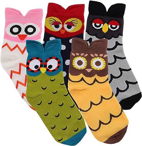 Jeasona Women's Cute Animals Socks