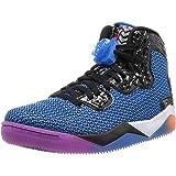 Jordan Air Spike Forty PE Men Round Toe Synthetic Blue Basketball Shoe