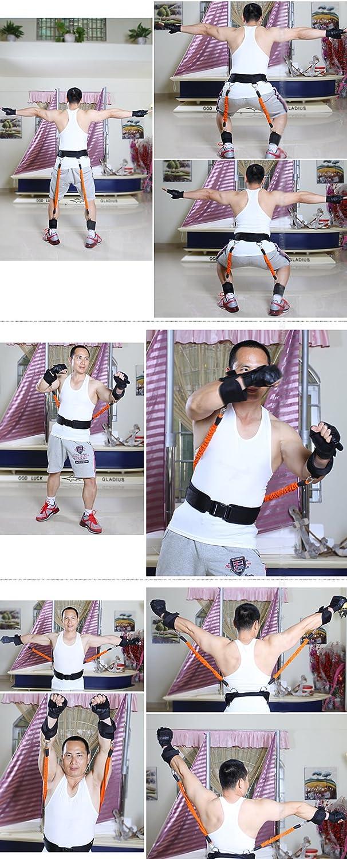 Ueasy Rebote para Entrenamiento Dispositivo Pierna Fuerza Vertical Jump Trainer Squat m/áquina Libertad combinaci/ón Equipo