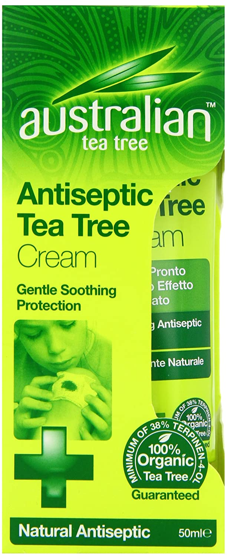 Australian Tea Tree Antiseptic Cream 50ml Optima Consumer Health Ltd 67179