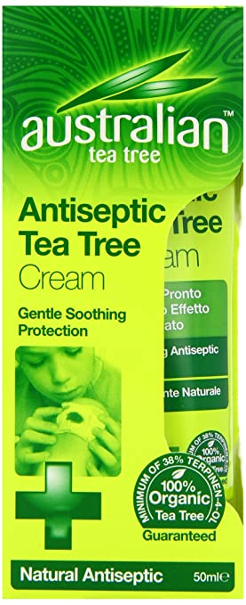 60 opinioni per Australiano Tea Tree Organic crema antisettica 50ml