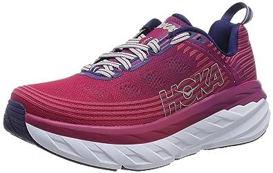 bb96aa206508f Amazon.com | HOKA ONE ONE Women's Bondi 6 Running Shoe Boysenberry ...