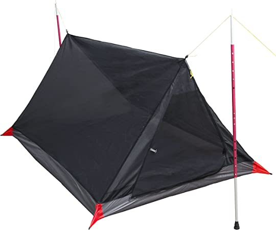 Paria Outdoor Products Tienda de Campaña/Carpa de Malla Breeze – Refugio de Malla para 2 Personas Ultraligero Camping, Piso de campinghacer ...