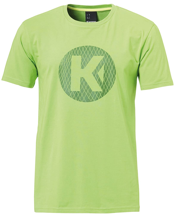 Kempa K-Logo Camiseta Casual, Hombre, Verde Esperanza, 164
