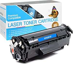 USA Advantage Compatible Toner Cartridge Replacement for HP 12A / Q2612A (Black,1 Pack)