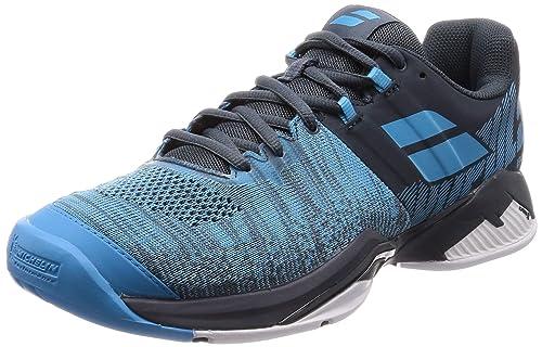 Babolat Hombres Propulse Blast Allcourt Zapatillas De Tenis Zapatilla Todas Las Superficies Azul - Azul Oscuro 42,5: Amazon.es: Zapatos y complementos