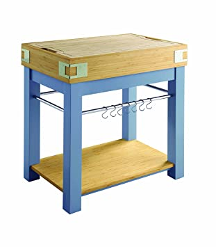 Amazon.com - Kitchen Island with Removable Cutting Board ...
