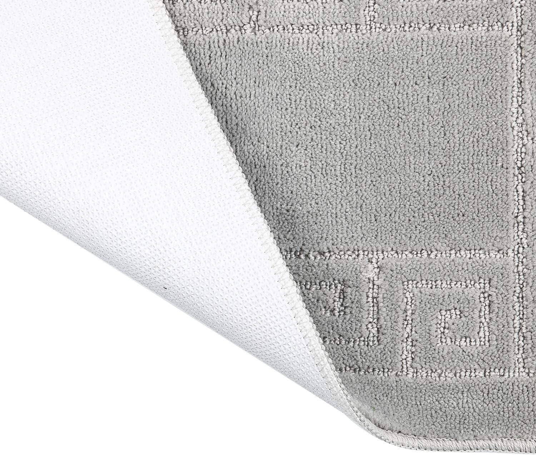 Pauwer Alfombrillas de ba/ño antideslizantes Alfombrillas de ducha Ni/ños resistentes al moho con ventosas Lavable a m/áquina 69x39cm