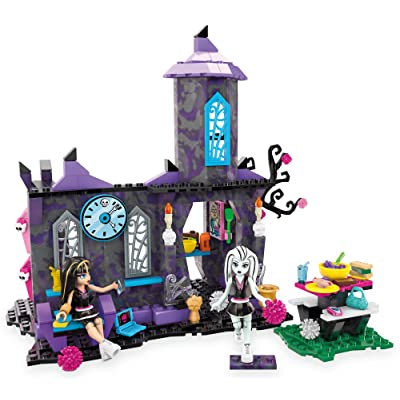 Mega Bloks Monster High Creepateria Building Set: Toys & Games