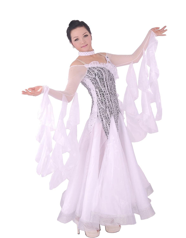 Amazon.com: Colorfulworldstore Tailored Ladies Ballroom Modern Waltz ...