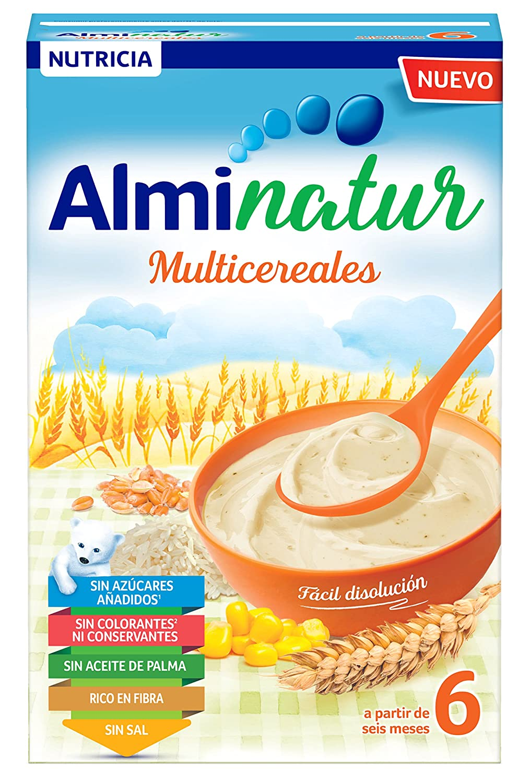 Alminatur Papilla de multicereales a partir de los 6 meses 250 g: Amazon.es: Amazon Pantry