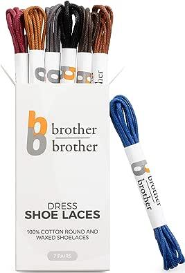 Cordón Hermano Vestido de color con cordones (7 pares) Cordones de ...
