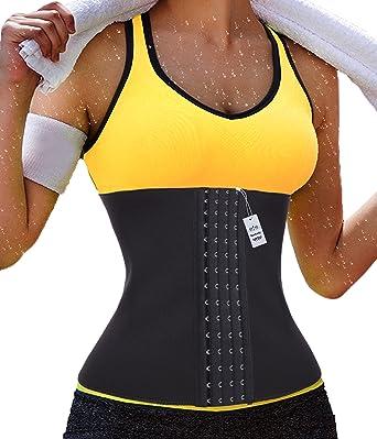 d68444e80f Neoprene Women Fat Burner Hot Sauna Shapers Thermo Waist Trainer Gotoly  (Small
