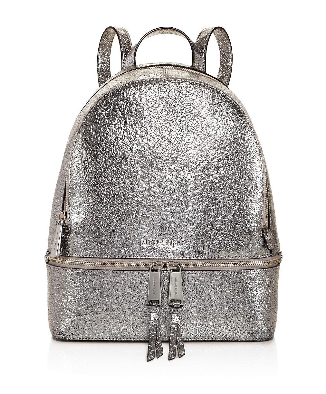 Michael Kors レディース B0785KDG49 Metallic Silver 2 Metallic Silver 2