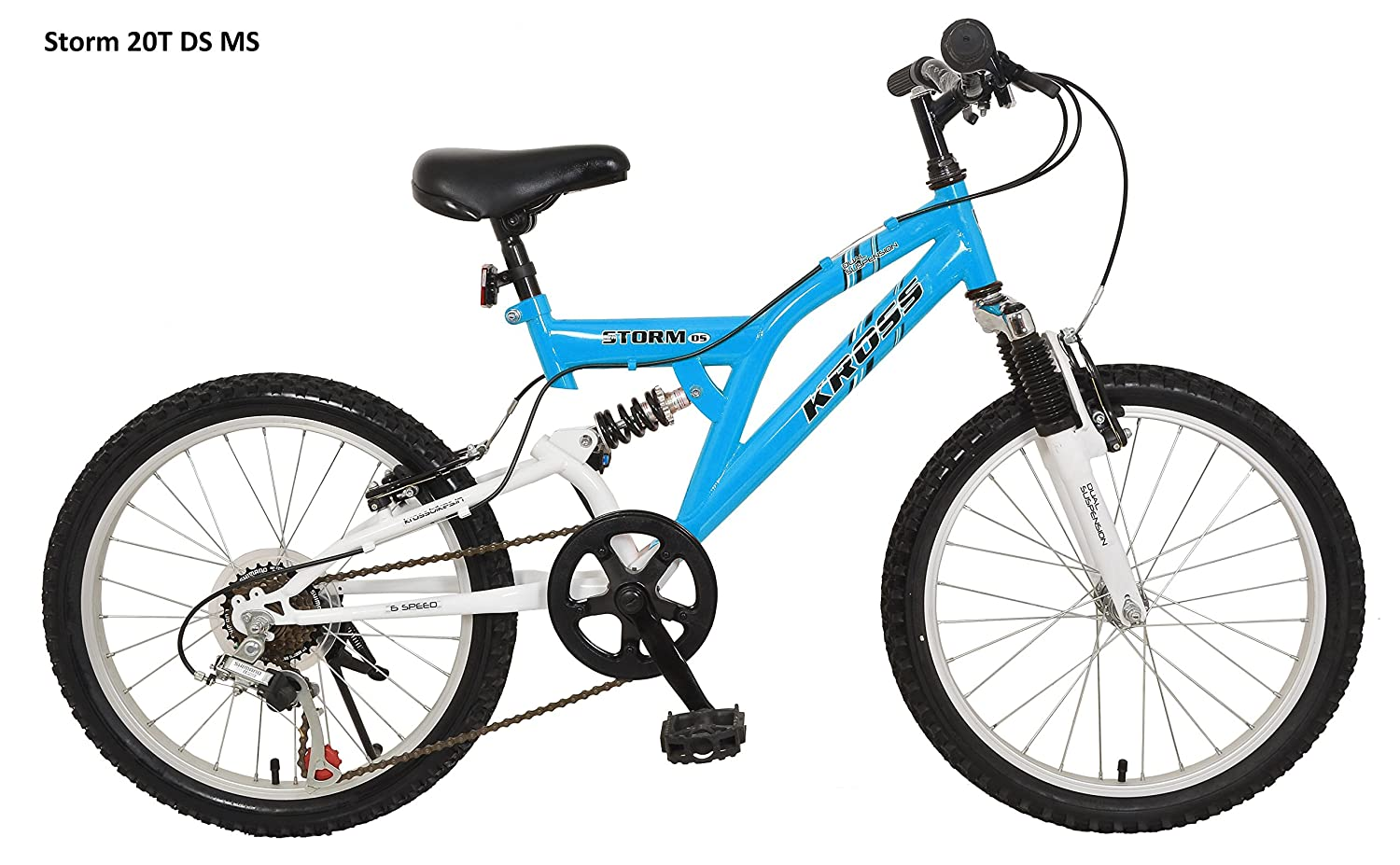 Buy Kross Storm 20t Ds Multi Speed Bicycle Blue White Online At
