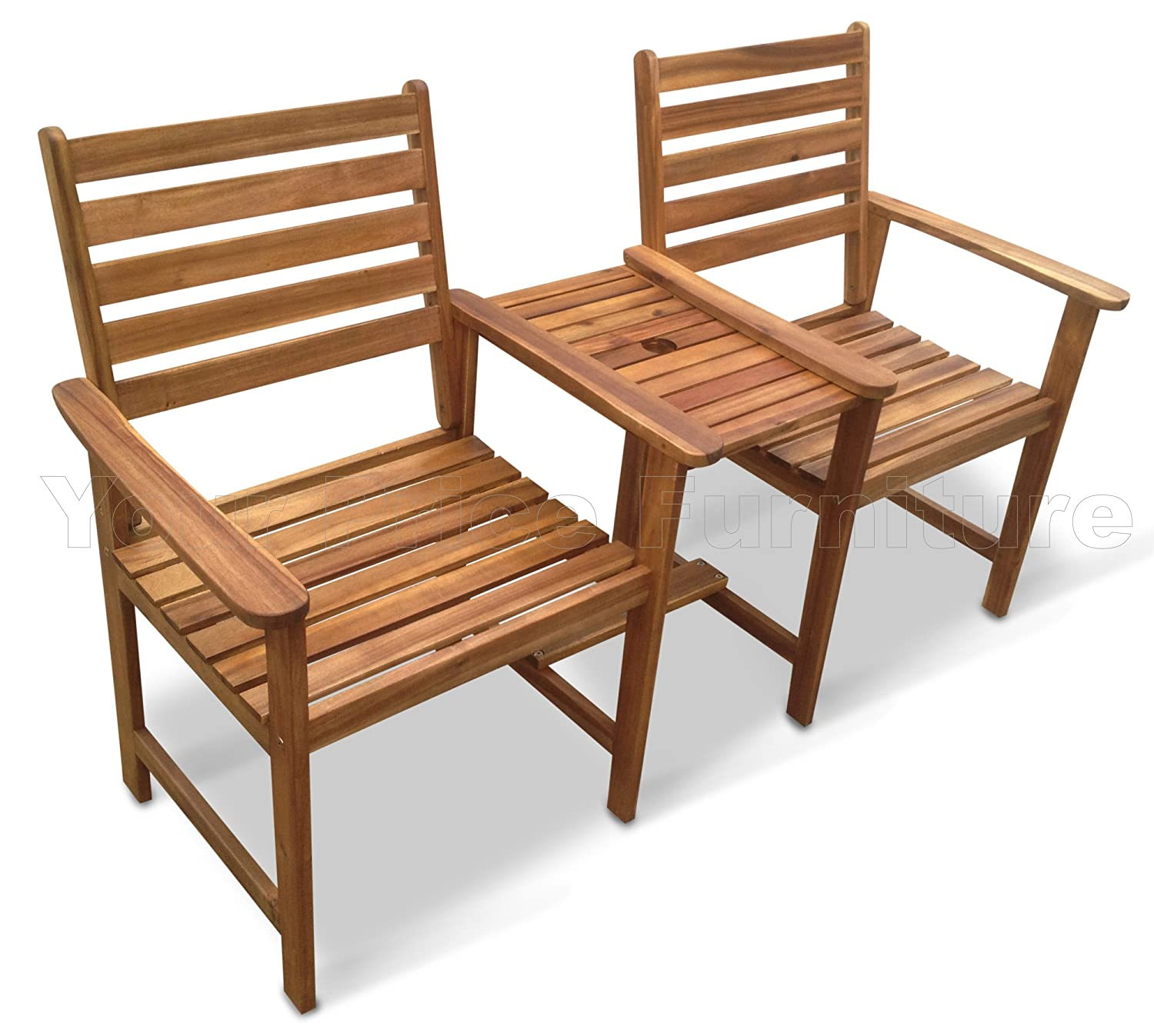 chester hardwood companion set love seat garden bench tete tete set jack and jill exclusively by your price furniture amazoncouk garden outdoors