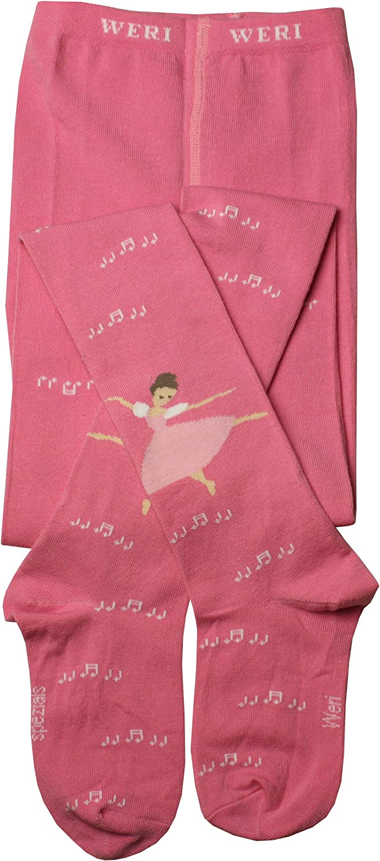 Weri Spezials Filles Ballet Collants Rose