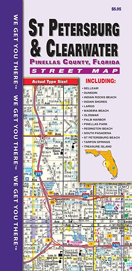 Pinellas County Map on