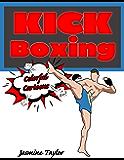 Kickboxing Colorful Cartoon Illustrations