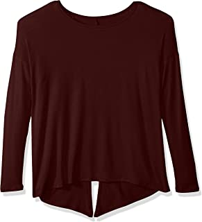 product image for Beyond Yoga Women's Slinky Modal Draw The Line Tie Black Pullover