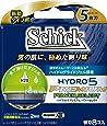 シック Schick 5枚刃 ハイドロ5 プレミアム 替刃 8コ入 アルカリAAA単4乾電池2本付 男性カミソリ