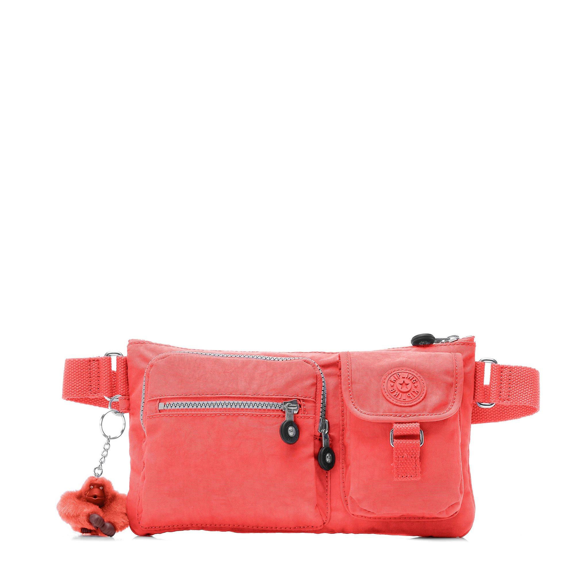 Kipling Women's Presto Solid Convertible Waistpack, Papaya
