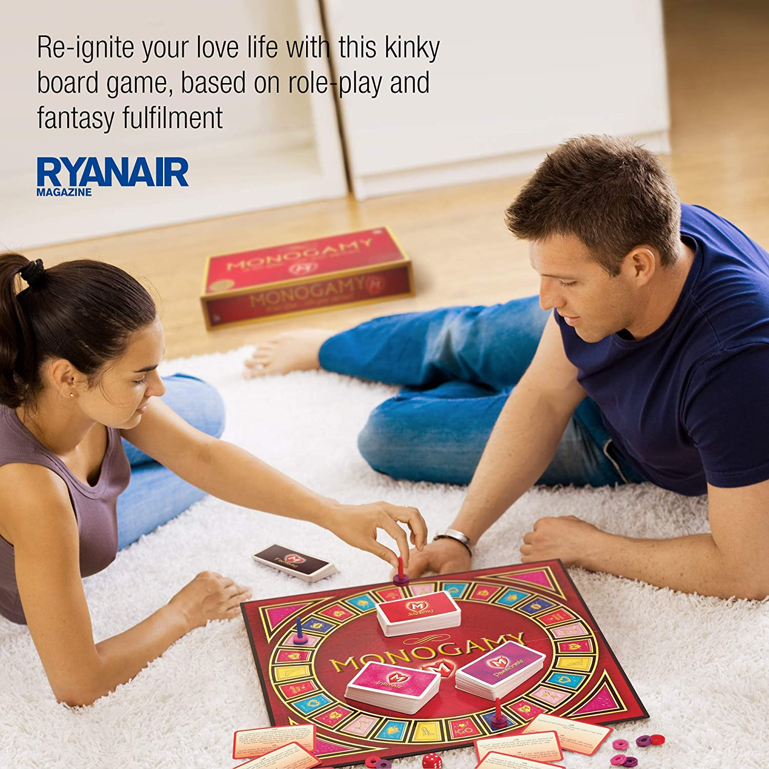 With Your Partner, Adult Couples Board Game: Amazon.co.uk: Health &  Personal Care