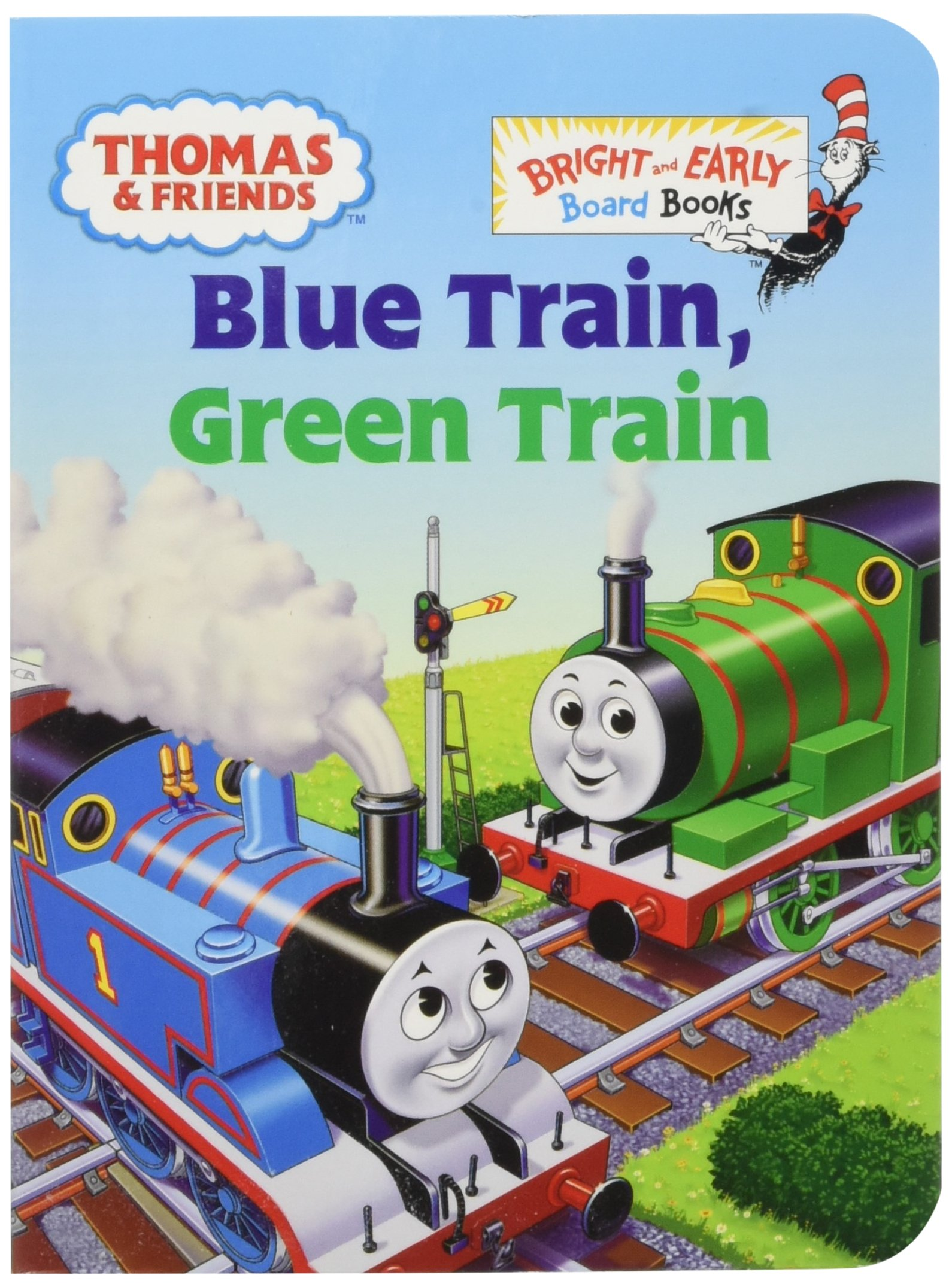 thomas and friends my red railway book box bright early board