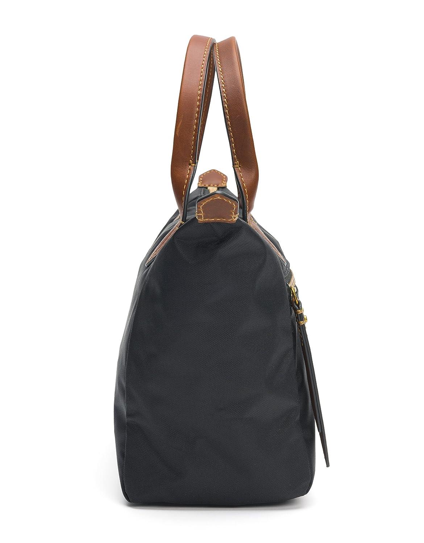 FRYE Ivy Nylon Small Satchel Handbag, Black: Amazon.es: Ropa ...