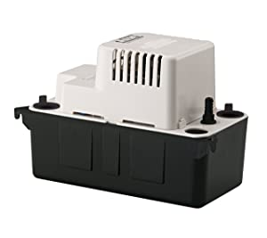 Automatic Condensate Removal Pump, 6' Cord, 1/50 Hp, 1.0 Amp, 65 Gph, 4.8 Lbs. (Safety Switch Not Included)