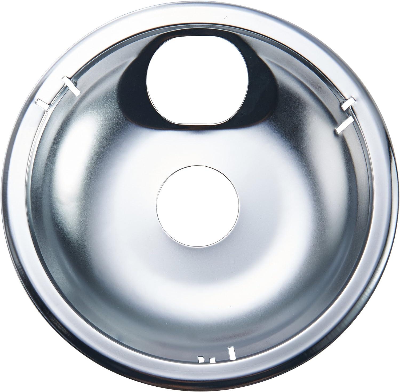 Farberware Classic Universal Stovetop Drip Pan/Burner Bibs, 8-Inch, Chrome