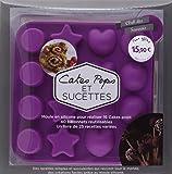 Coffret Cake Pop's et sucettes purple