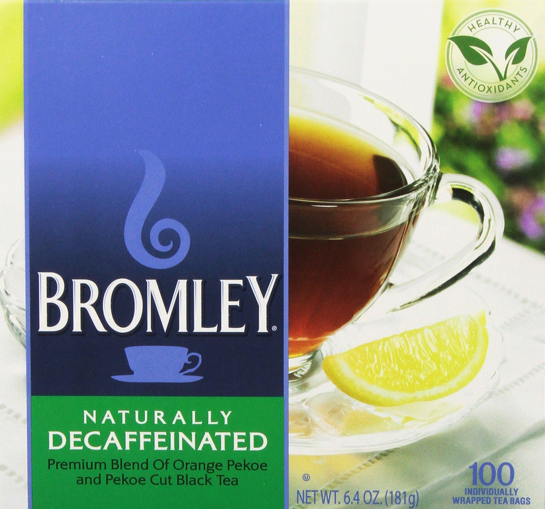 Bromley Decaffeinated Tea 100.0 BG (Pack of 2)