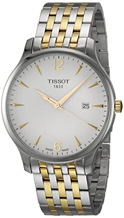 55a9f2e754f Image Unavailable. Image not available for. Color  Tissot T-Classic  Tradition ...