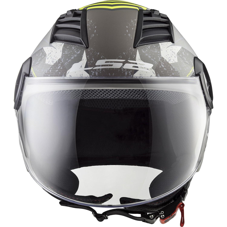 LS2/OF562/Airflow l Camo Open Face Casco Moto