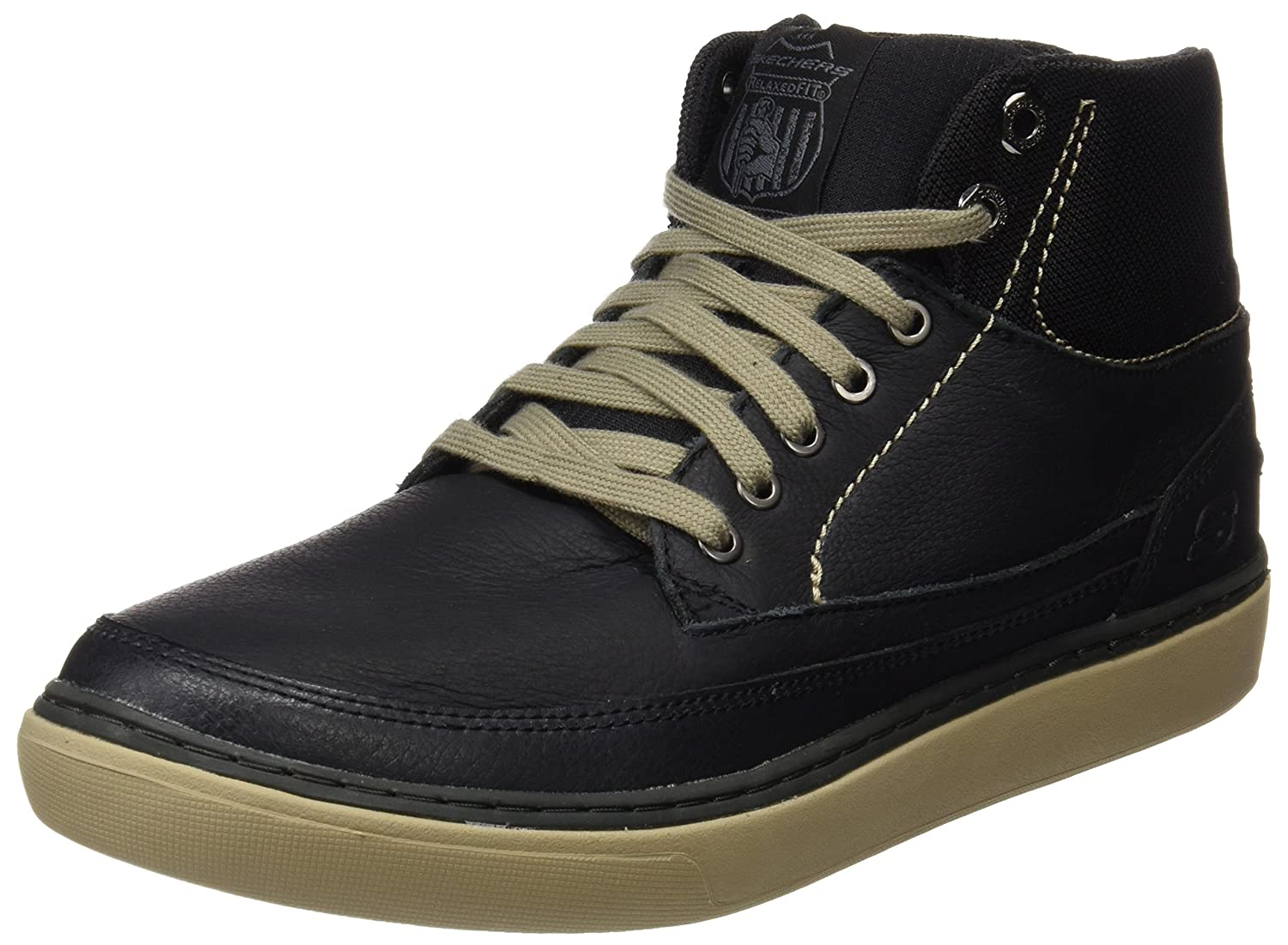 Skechers Relaxed Fit Palen Bower Mens High Top Sneaker Oxfords