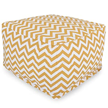 Tremendous Majestic Home Goods Yellow Zig Zag Ottoman Large Ocoug Best Dining Table And Chair Ideas Images Ocougorg