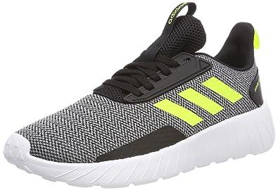 best service bd308 528a2 adidas Questar Drive, Sneakers Basses Mixte Enfant, Noir (Core BlackSolar  Yellow