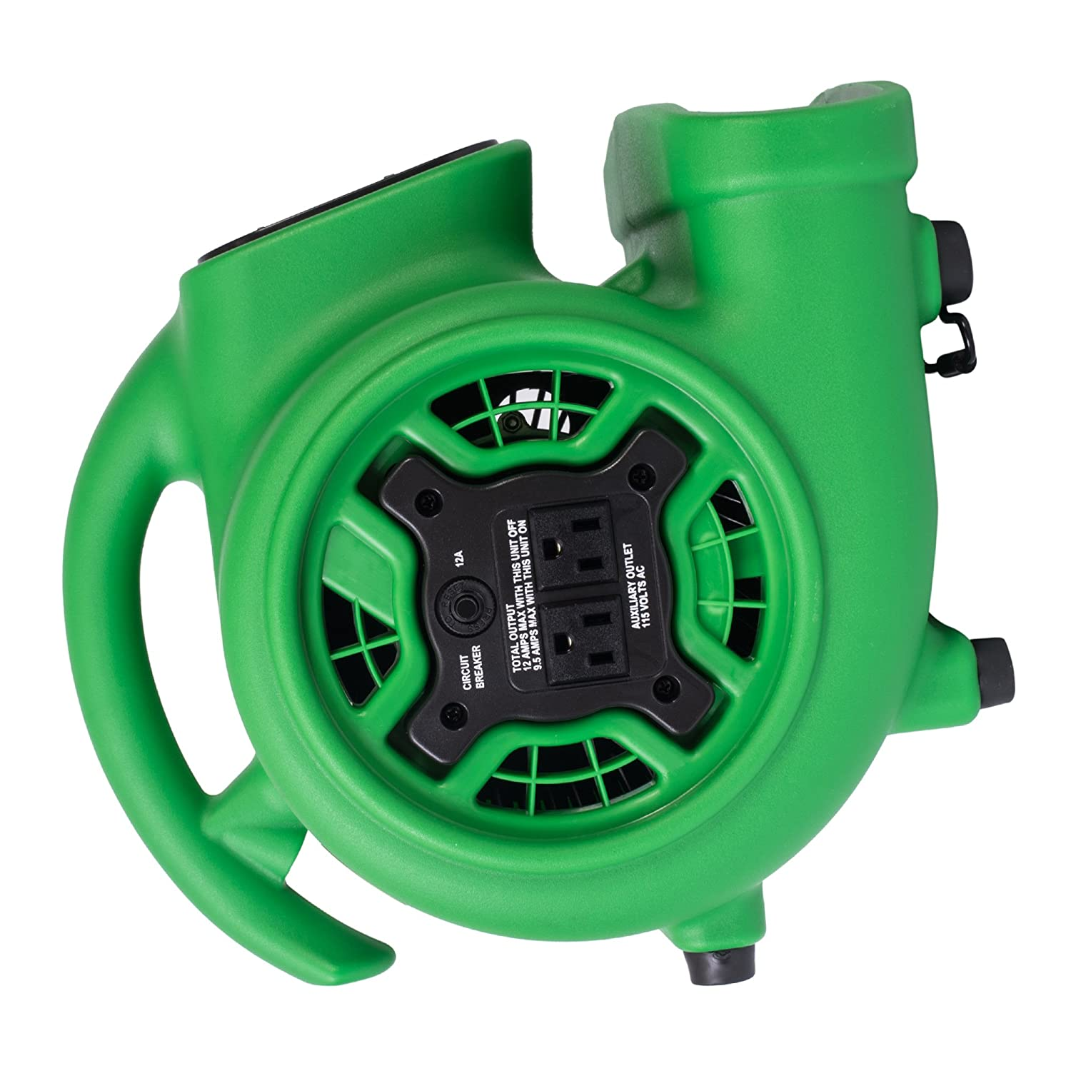 Xpower P 230at 1 5 Hp 800 Cfm 3 Speeds Mini Air Mover With Three Hour Timer